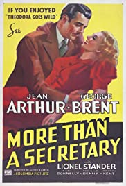 More Than a Secretary(1936) Poster - Movie Forum, Cast, Reviews