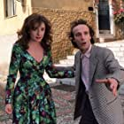Roberto Benigni and Nicoletta Braschi in Il piccolo diavolo (1988)