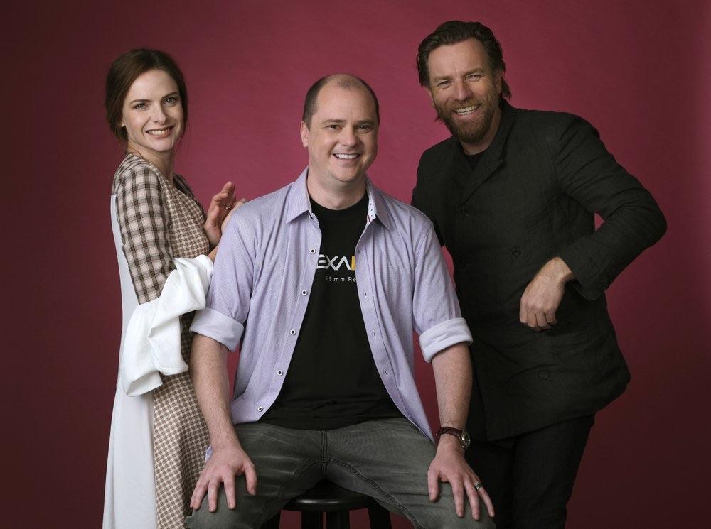 Ewan McGregor, Rebecca Ferguson, and Mike Flanagan