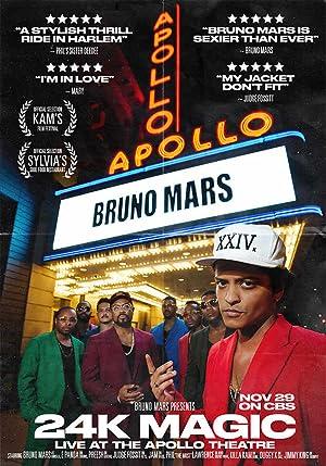 Bruno Mars: 24K Magic Live at the Apollo (2017)