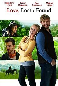 Danielle C. Ryan, Trevor Donovan, Jake Stormoen, and Melanie Stone in Love, Lost & Found (2021)
