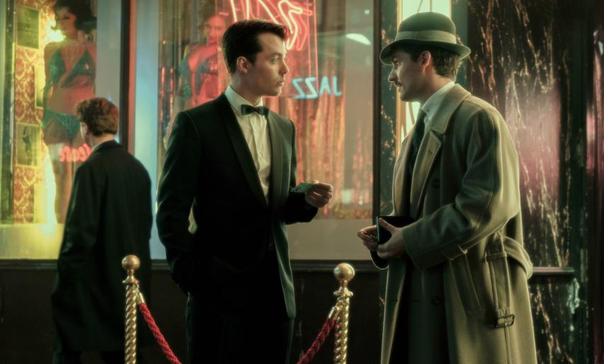 Jack Bannon and Ben Aldridge in Pennyworth (2019)