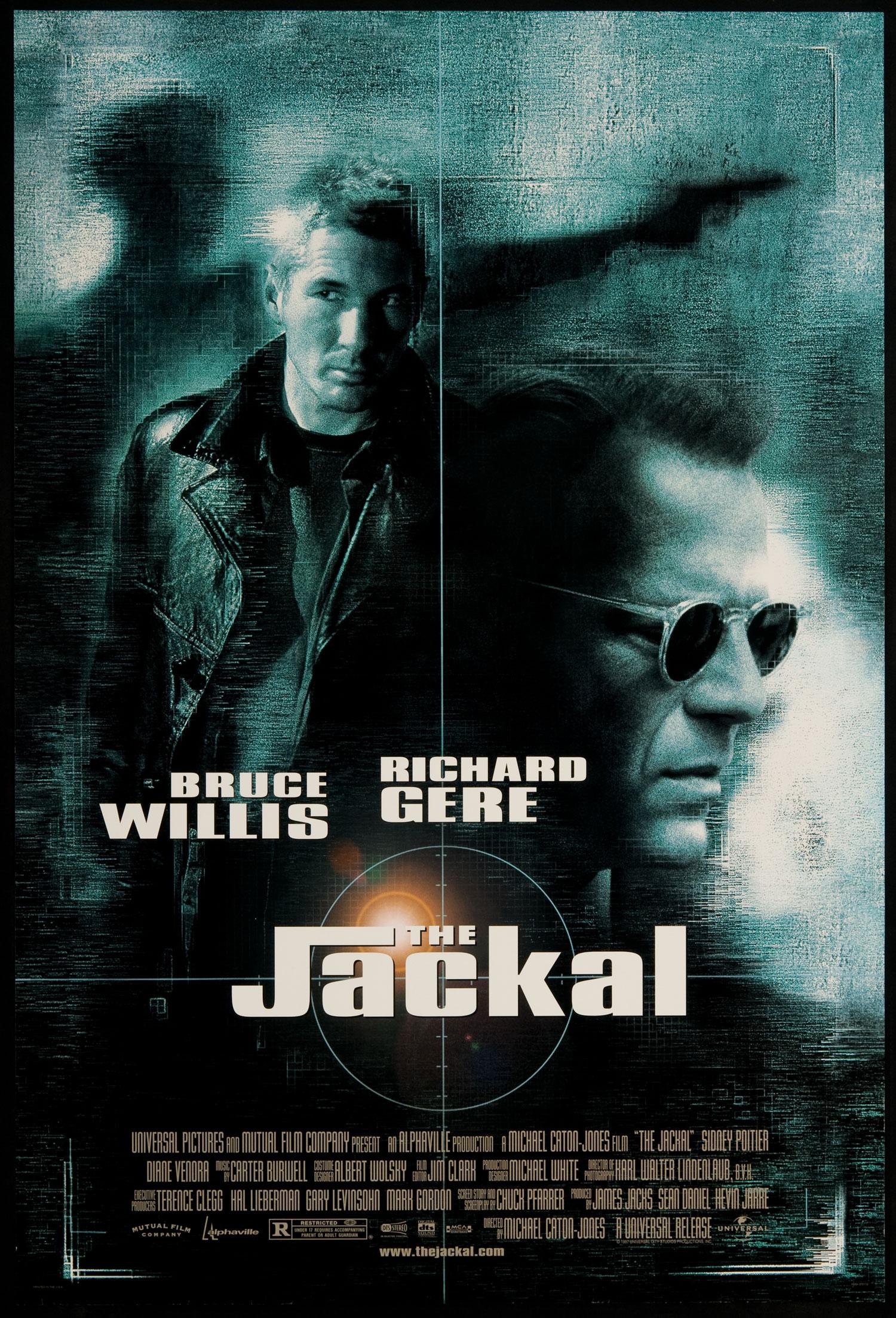 The Jackal (1997) BluRay 720p & 1080p