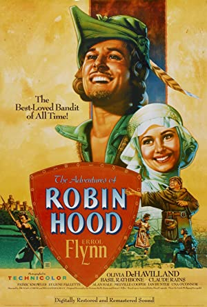The Adventures of Robin Hood Poster Image