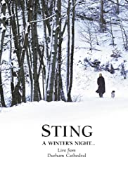Sting: A Winter's Night... Live from Durham Cathedral Poster