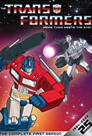 Peter Cullen and Frank Welker in Transformers (1984)