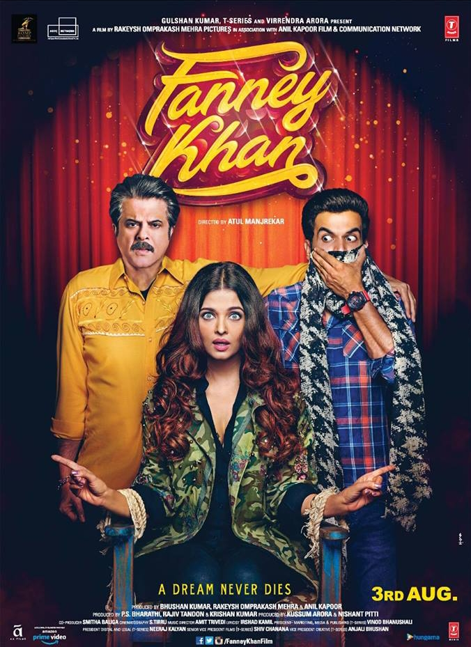 Fanney Khan (2018) Hindi HDRip 700MB AAC ESub MKV