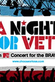 A Night for Vets: An MTV Concert for the Brave Poster