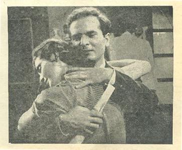 Monir Taslimi and Kan'an Kiani in Mahtabe khoonin (1955)