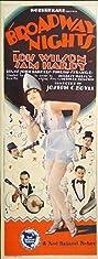Broadway Nights (1927) Poster