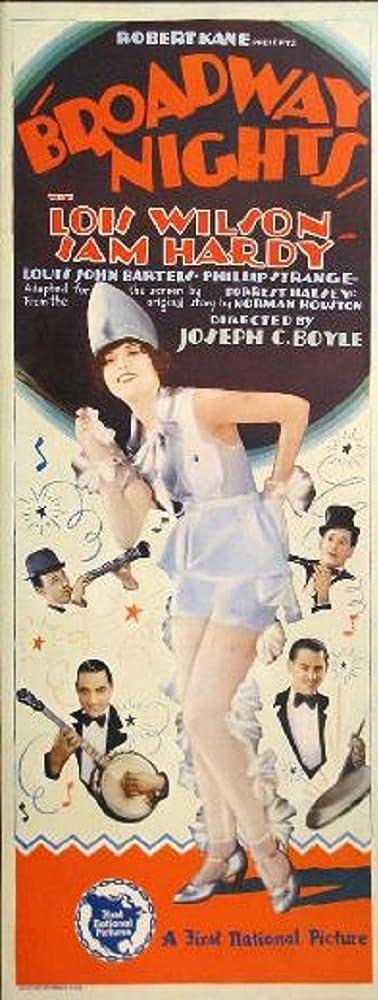 Louis John Bartels, Sam Hardy, and Lois Wilson in Broadway Nights (1927)