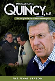 Quincy M.E. Poster - TV Show Forum, Cast, Reviews