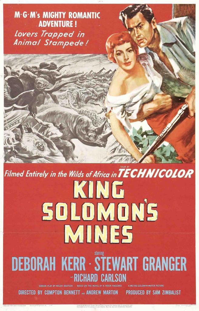 KARALIAUS SALIAMONO KASYKLOS (2004) / KING SOLOMON'S MINES online