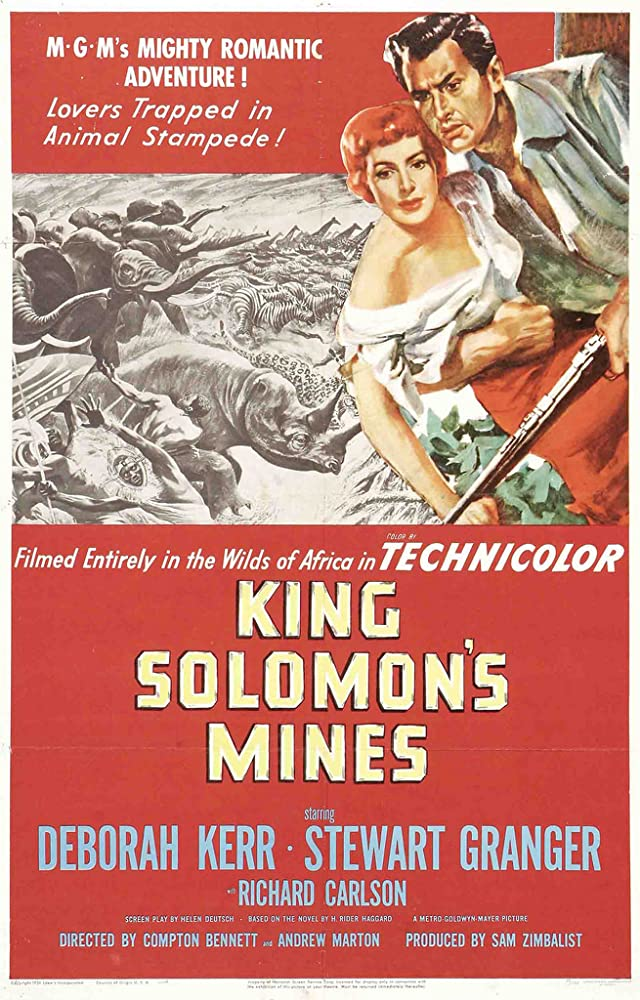 Deborah Kerr and Stewart Granger in King Solomon's Mines (1950)