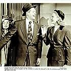 Elsa Lanchester, Joan Caulfield, and Robert Cummings in The Petty Girl (1950)