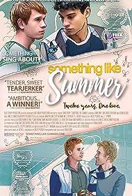 Ben Baur, Davi Santos, and Grant Davis in Something Like Summer (2017)