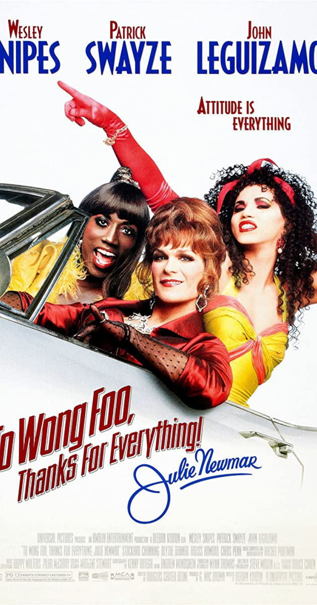 Subtitle of To Wong Foo Thanks for Everything, Julie Newmar