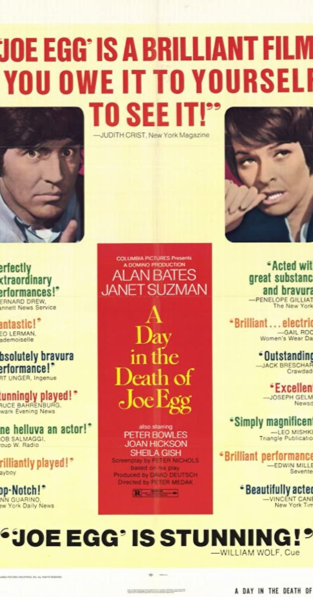 A day in the death of Joe Egg Alan Bates movie poster