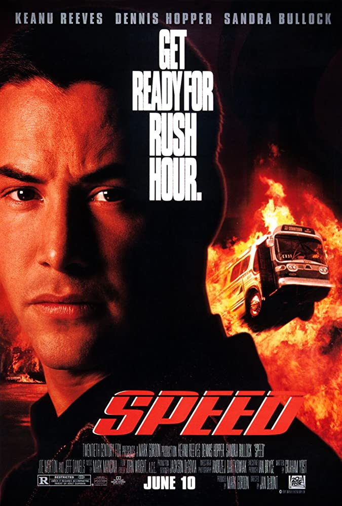 Keanu Reeves in Speed (1994)