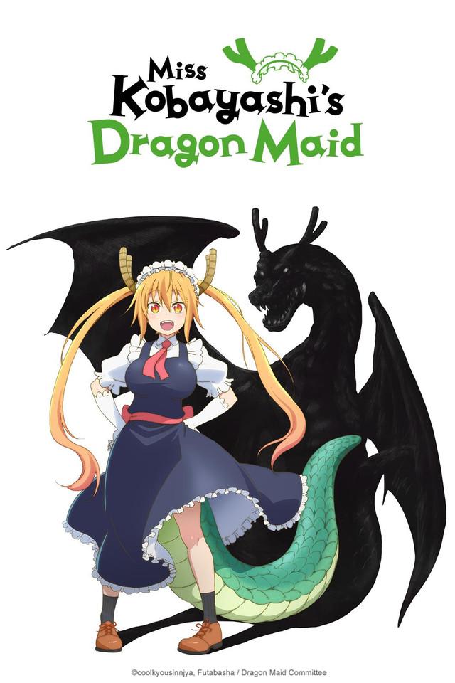 Скачать сериал Кобаяcи и её горничная-дракон через торрент в HD