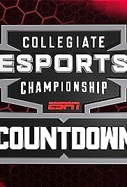 ESPN Collegiate Esports Championship Countdown Poster