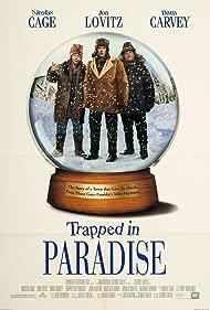 Nicolas Cage, Dana Carvey, Jon Lovitz, and Vic Noto in Trapped in Paradise (1994)