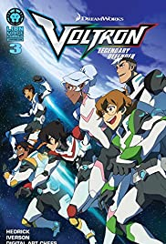 Voltron Legendary Defender Motion Comic Poster