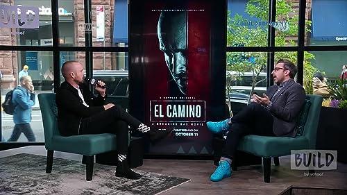 BUILD: Aaron Had to Hide Under a Cloak to Keep 'El Camino' Under Wraps