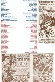 Charles Starrett in Rough Ridin' Justice (1945)