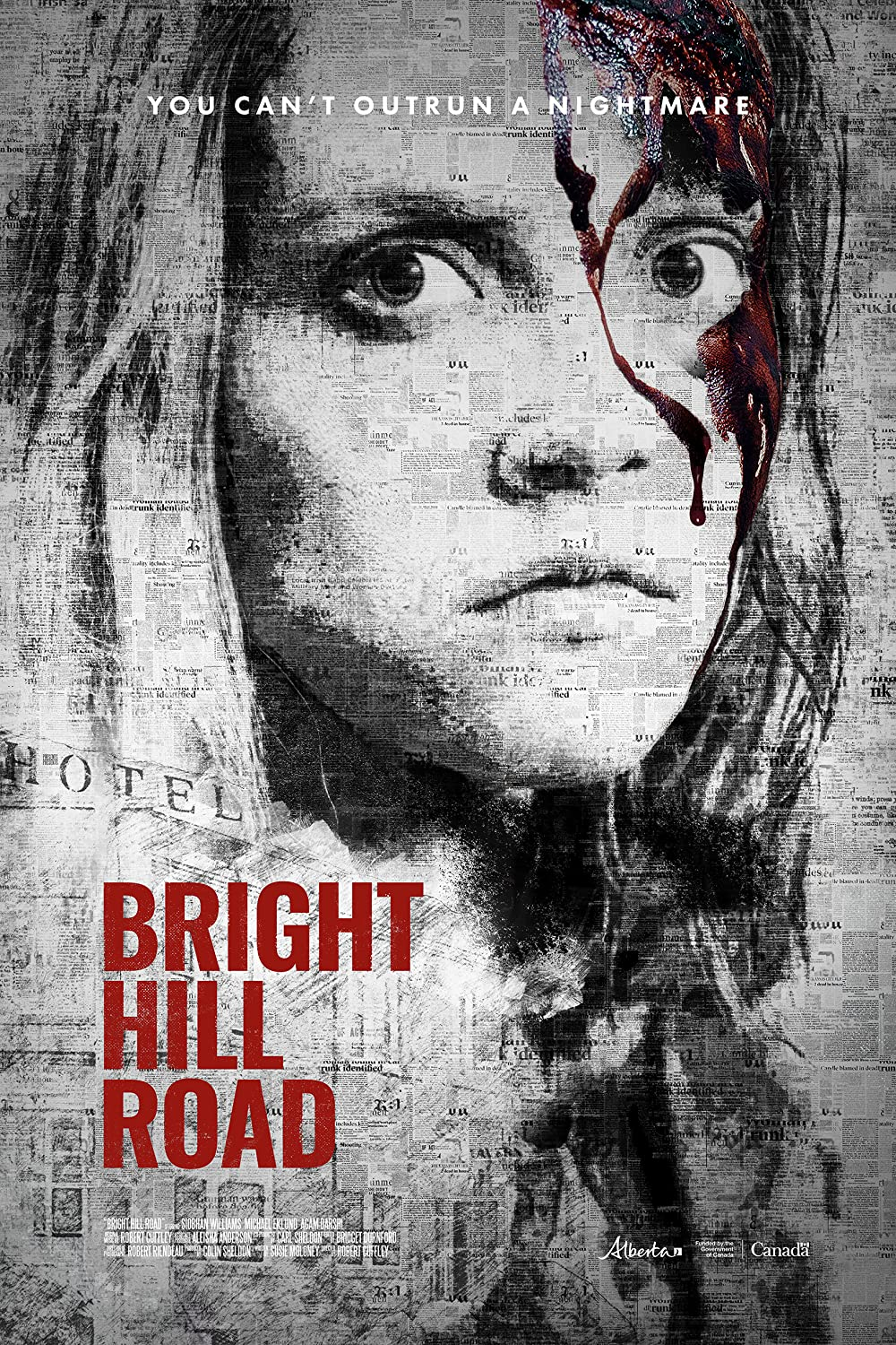 Bright Hill Road 2020 English 720p HDRip 800MB Download