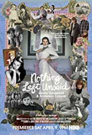 Nothing Left Unsaid: Gloria Vanderbilt & Anderson Cooper (2016) 720p download