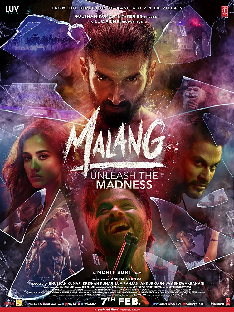 Malang (2020) Hindi Movie 720p HDRip 920MB ESubs Download