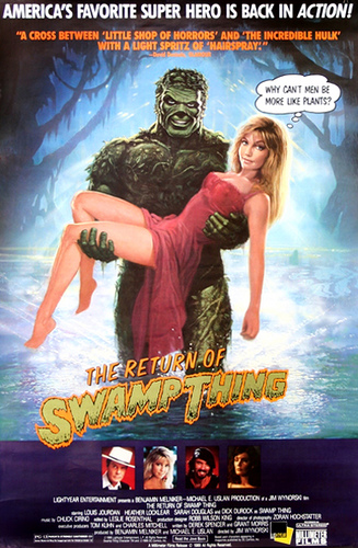 The Return of Swamp Thing (1989) English 300MB BluRay 480p