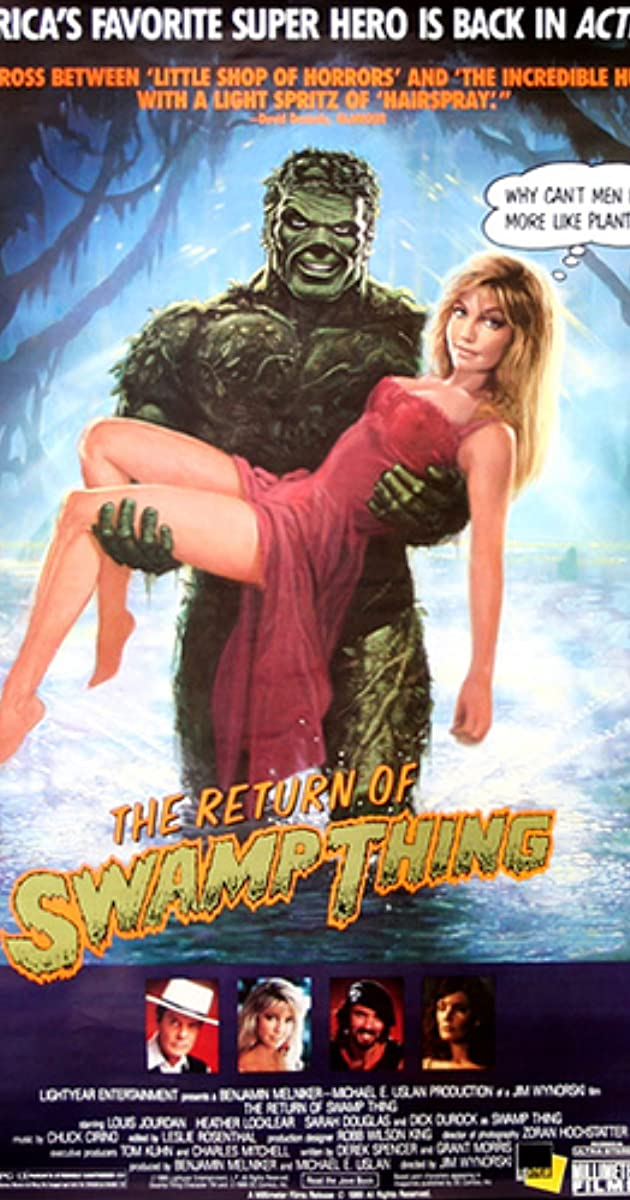 Subtitle of The Return of Swamp Thing