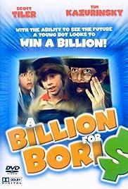 Billions for Boris Poster
