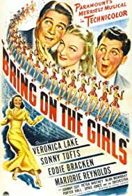 Veronica Lake, Eddie Bracken, Marjorie Reynolds, and Sonny Tufts in Bring on the Girls (1945)