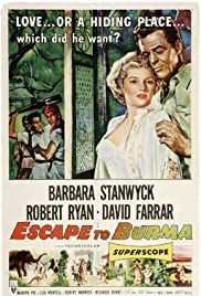 Escape to Burma (1955) starring Barbara Stanwyck on DVD on DVD