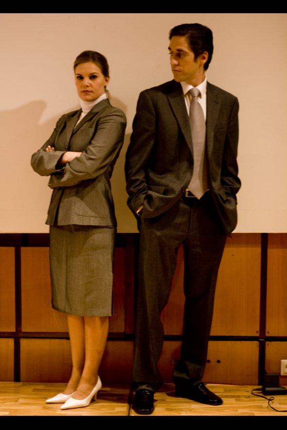 Virginia de Morata and Rafa Castillo-Romero in La Corporación (2008)