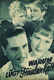 Dolly Haas, Albrecht Schoenhals, and Ida Wüst in Warum lügt Fräulein Käthe? (1935)