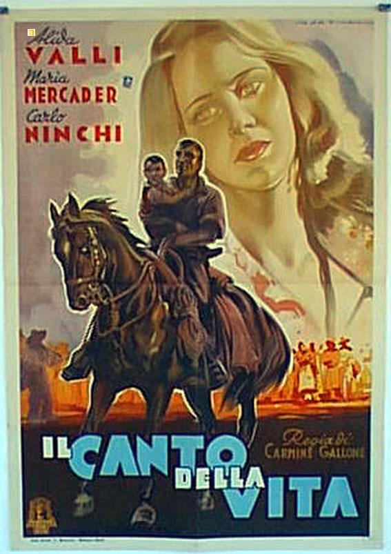 Carlo Ninchi and Alida Valli in Il canto della vita (1945)