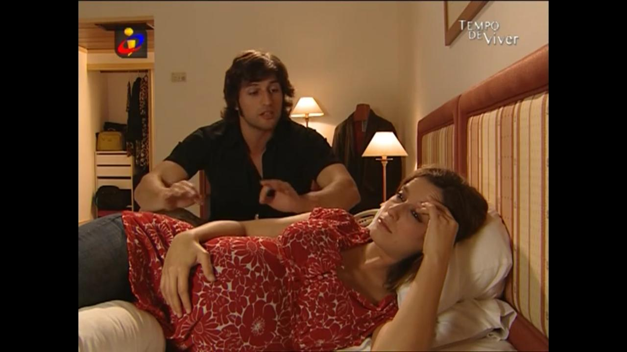 Margarida Vila-Nova and José Fidalgo in Tempo de Viver (2006)