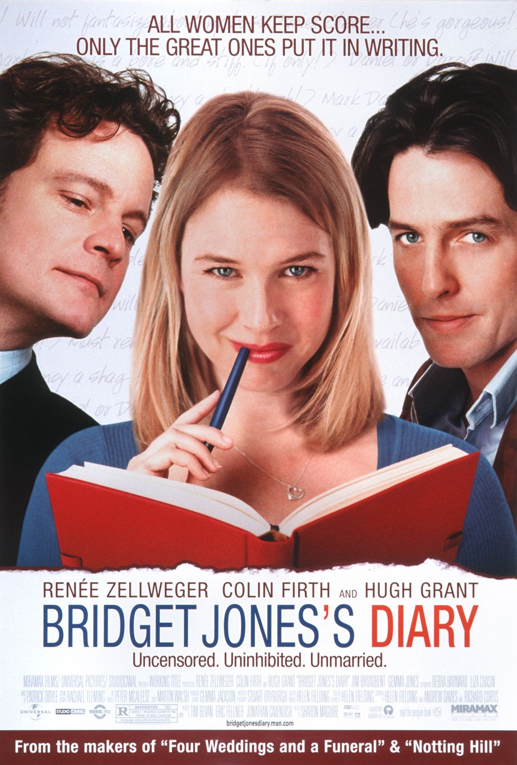 Bridget Jones's Diary (2001) Dual Audio 720p BluRay [Hindi (ORG) + English] ESubs