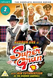 Supergran and the Racing Cert Poster