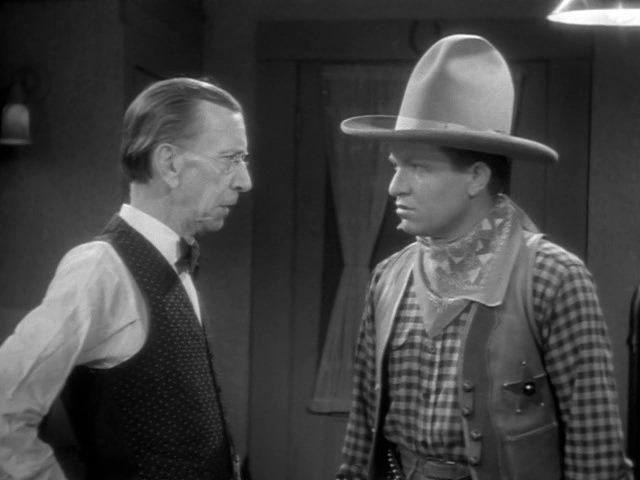 Stuart Erwin and Charles Sellon in Make Me a Star (1932)