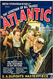 Atlantic (1929) starring Franklin Dyall on DVD on DVD