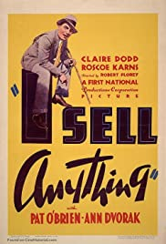 I Sell Anything Poster