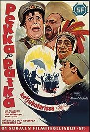 Pekka ja Pätkä ketjukolarissa Poster