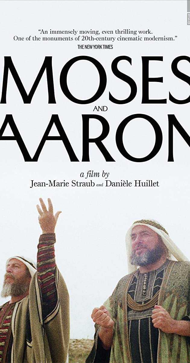 Subtitle of Moses and Aaron