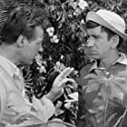 Bob Denver and Russell Johnson in Gilligan's Island (1964)