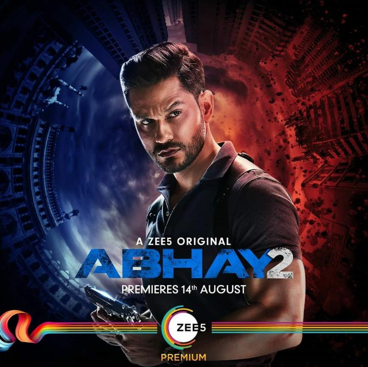 Abhay (2020) S02 Hindi Zee5 Web Series (Ep1-2) 720p HDRip 600MB x264 AAC